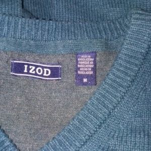 IZOD Pullover Warm V Neck size M sweater